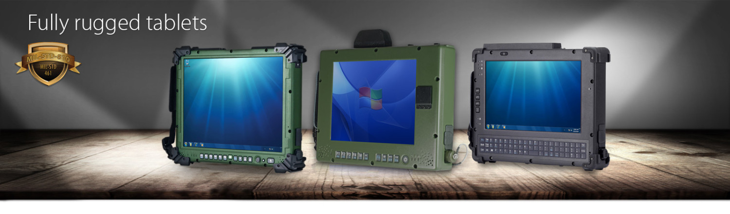 Fully Rugged Tablet Military Grade Computers