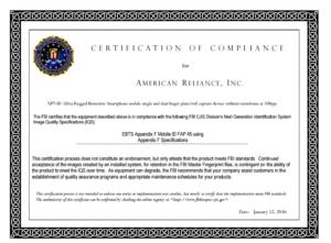 XP7ID-FBI-FAP-45-Cert-2016